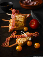 Cakesicles mit Bacon
