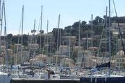 le port de plaisance de St Mandrier