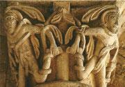 chapiteau du choeur : Ulysse pris dans les lianes