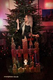 Sophia Venus / Girl / Schlager / Weihnachten / Show / eventphoto-leo / Dresden