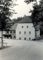 Bild: Damm-Mühle Wünschendorf 1960