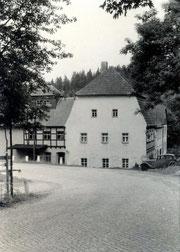 Bild: Teichler Damm-Mühle Wünschendorf 1960