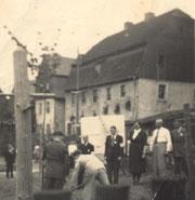 Bild: Teichler Armenhaus Wünschendorf 1952