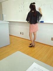 葉沢帆泉さんの講演風景