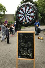 Fußballdart Straßenfest Dringsheide