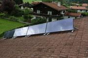 Solaranlage Andi Birnbacher und Wärmepumpe WPW 10 E Set