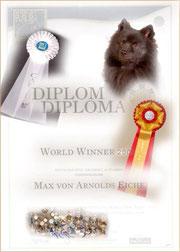 Großspitz Rüde Max von der Arnold's Eiche FCI World Winner 2005