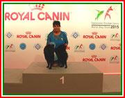 FCI World Winner 2015 Großspitz Hündin Odessa von der Arnold's Eiche.