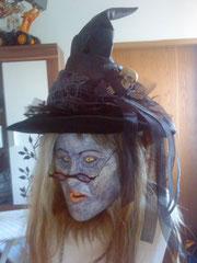 Hexenhut für Maske