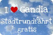 Gandia - Stadtrundfahrt - gratis