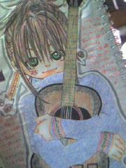 ギターに魅力されたlady