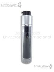 botellas airless, envases airless, envases de acrílico, envases cosméticos, envases para maquillaje