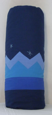 Yogarolle ALI  BABA-blau