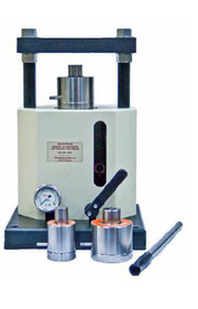 Manual 12 Ton Spectropress for XRF or IR sample briquetting