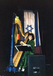 Nehama REUBEN harp solo Concert KKL 1995