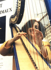 Nehama REUBEN. Concert Paris. Grand Palais.1991