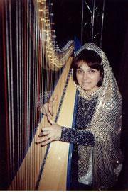 Nehama REUBEN harp solo recording television Psalm 137 Paris