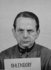 Criminel nazi : Otto Ohlendorf chef de l'Einsatzgruppe D