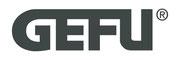 Die Grafik zeigt das Markenzeichen (Logo) der Fa. GEFU