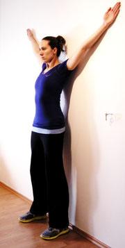 Übung für die obere Rückenmuskulatur