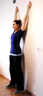 Training der Schultergürtelmuskulatur