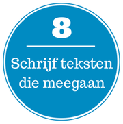 Webtekst tip 8
