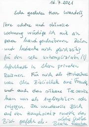 Schreiben von Mag. Beate Haubner (2021)