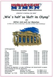"""""""Wie´s halt´so läuft im Olymp"""" (2011)"""