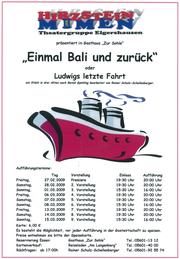 """""""Einmal Bali und zurück"""" (2009)"""
