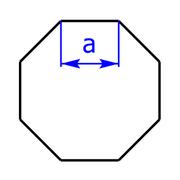 Achteck-Oktagon