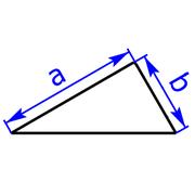 Rechtwinkeliges Dreieck