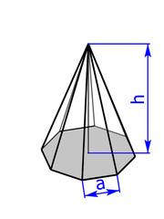 8-seitige Pyramide