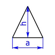 Gleichschenkeliges Dreieck