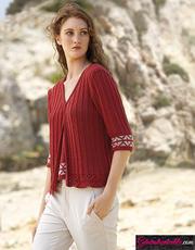 Laine-Katia-Cotton-Yak-modèle-N°6025-30a