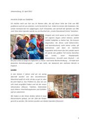 Bericht für MGV 2012