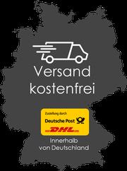 Deutsche Post DHL Versand kostenfrei innerhalb von Deutschland