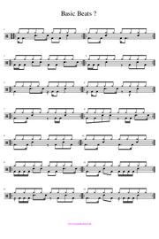 Schlagzeugnoten Grooves PDF