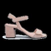 flexible Perfect Match Bridal Schuhe in Nude und 7 cm Super Block Absatz
