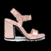 flexible Perfect Match Bridal Schuhe in Rosé und 10 cm Super Block Absatz