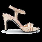 flexible Perfect Match Bridal Schuhe in Gold und 10 cm Stiletto Absatz