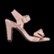 flexible Perfect Match Bridal Schuhe in Nude und 10 cm Block Absatz