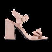 flexible Perfect Match Bridal Schuhe in Nude und 10 cm Super BlockAbsatz