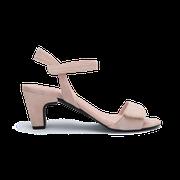 flexible Perfect Match Bridal Schuhe in Nude und 7 cm Block Absatz