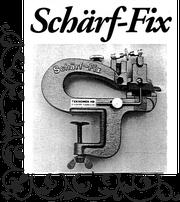 Schärffixの誕生秘話から、現在に至るまでのストーリーをぜひご覧下さい