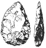 Generic image of a handaxe