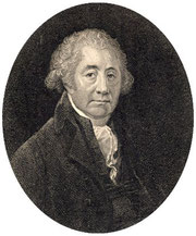 Matthew Boulton. From an engraving made in 1809 by William Ridley. Image now in the public domain.