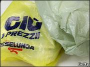 Каждый год итальянцы используют 20 млрд таких пакетов