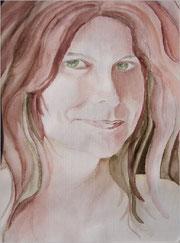 Margit Hübner (Selbstpotrait)
