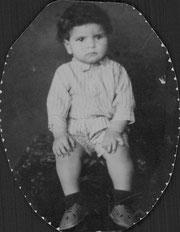 Ferry Marwi im Alter von 18 Monaten
