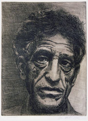 """Alberto-Giacometti,-etching-(author-Jan-Hladík-2002)"" by Jan Hladík - poskytl autor grafického listu Jan Hladík. Licensed under Creative Commons Attribution-Share Alike 3.0 via Wikimedia Commons - ht"